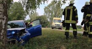 Unfall zw. Guenzburg-Riedhausen L1168