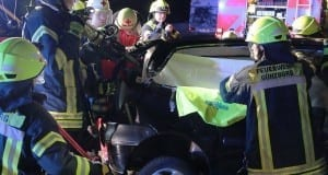 Verkehrsunfall Autobahn 8 Guenzburg-Leipheim 15072017 13