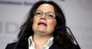 Bundesarbeitsministerin Andrea NahlesAndrea Nahles