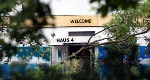 Aufnahmeeinrichtung Asylbewerber Gebäuse