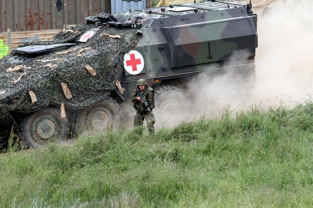 Sanitaetspanzer der Bundeswehr