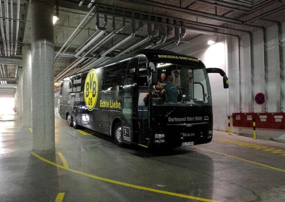 Bus von Borussia Dortmund