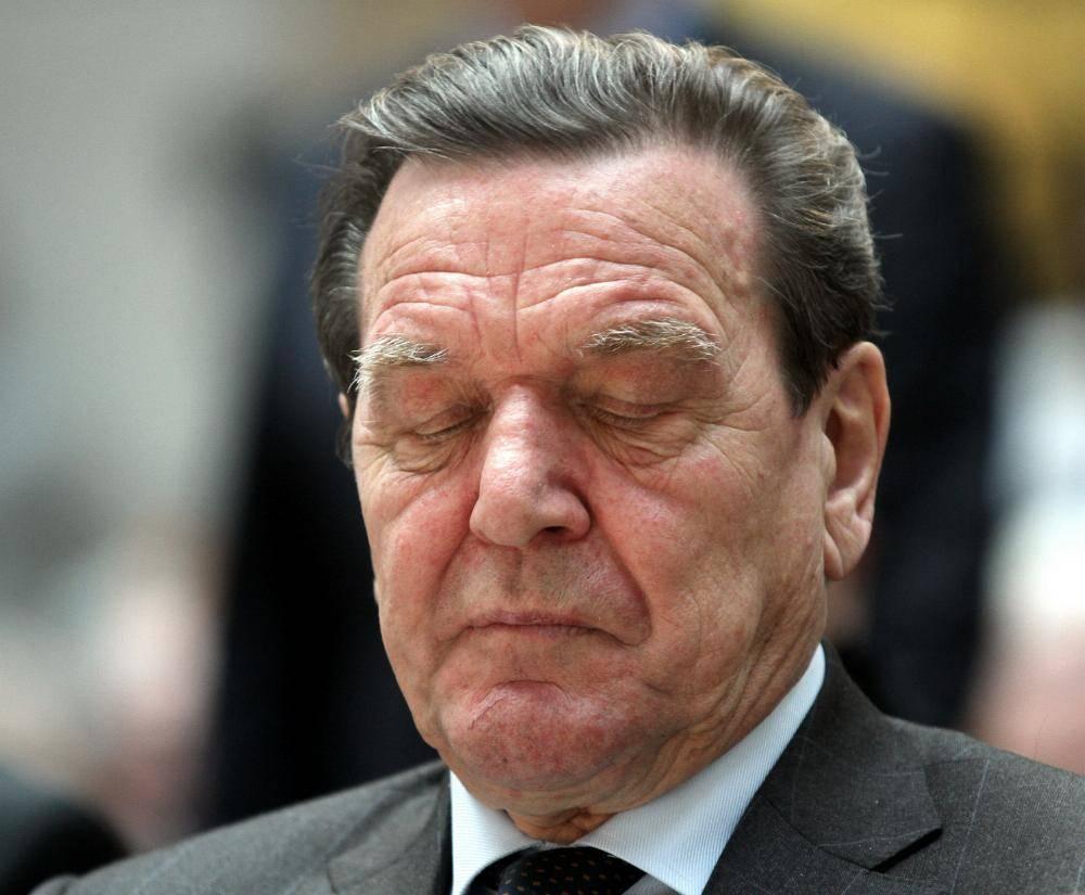 EX-Kanzler Gerhard Schröder