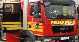 Fahrzeug der Feuerwehr Offingen