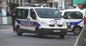 Franzoesisches Polizeifahrzeug
