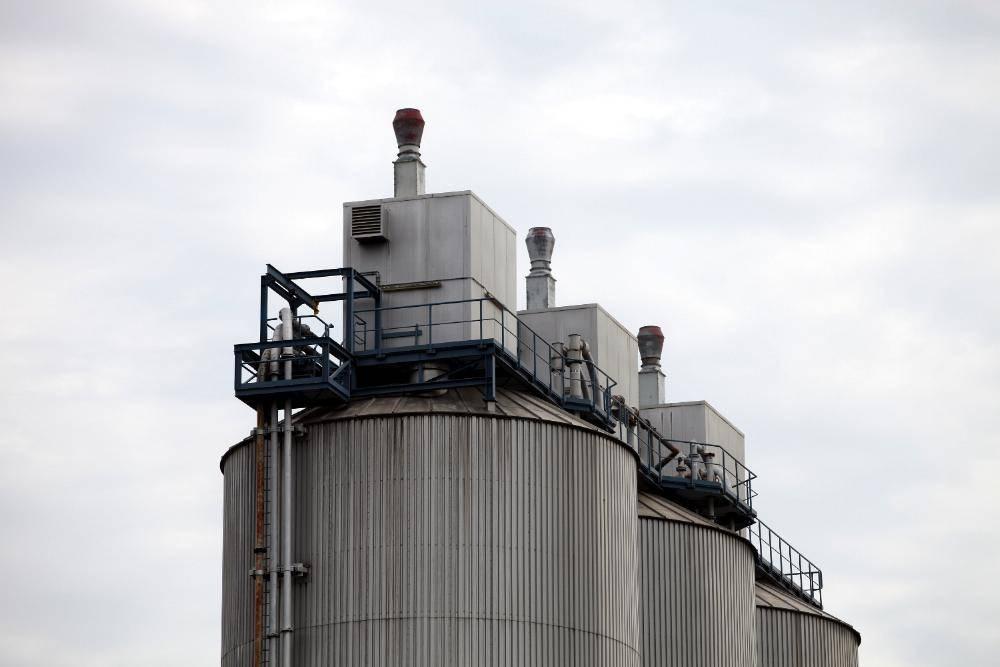 Industrieanlage Produktion