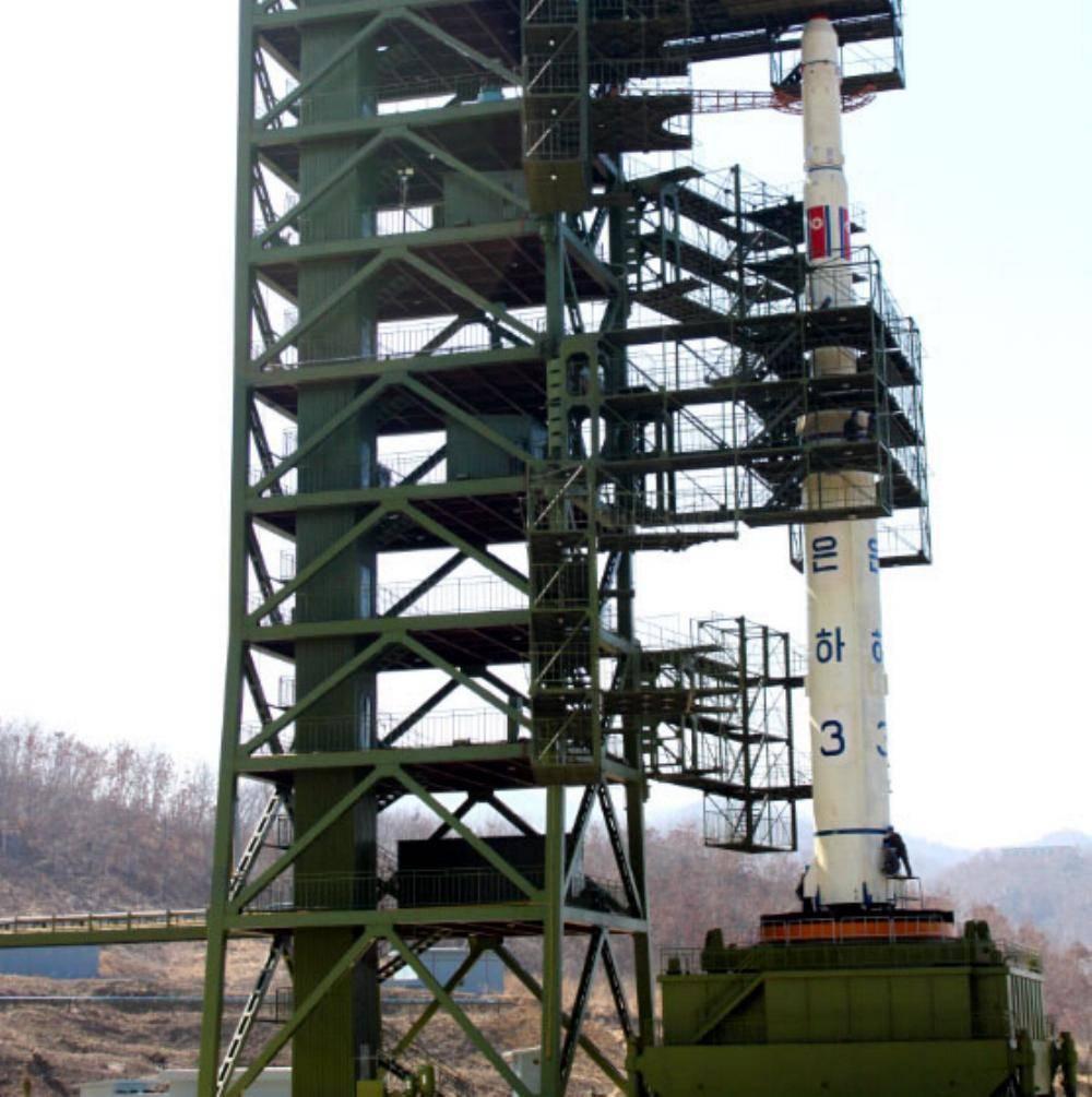 Nordkoreanische Rakete abgefeuert