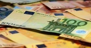 Scheine aus Eurozone