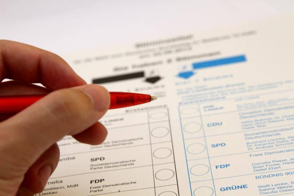 Stimmzettel Bundestagswahl_dts