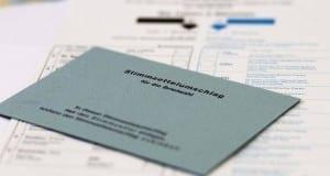 Stimmzettelumschlag Briefwahl