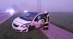Unfall Denzingen-Wasserburg