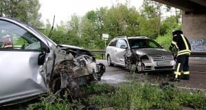 Verkehrsunfall auf der B10 zwischen Neu-Ulm und Nersingen