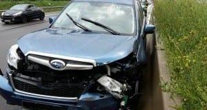 Verkerhsunfall Autobahn 8 nahe Leipheim