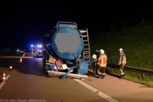 A8 Burgau Auffahrunfall LKW Gefahrgut 20082017 10