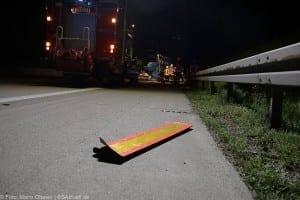 A8 Burgau Auffahrunfall LKW Gefahrgut 20082017 12