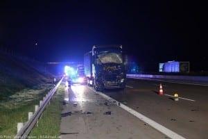 A8 Burgau Auffahrunfall LKW Gefahrgut 20082017 13