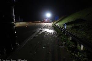 A8 Burgau Auffahrunfall LKW Gefahrgut 20082017 18