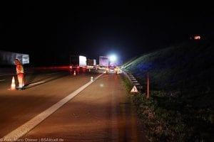 A8 Burgau Auffahrunfall LKW Gefahrgut 20082017 21