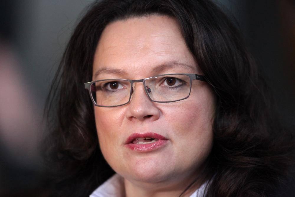 SPD Andrea Nahles
