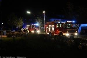 Brand in einem Raum im Keller eines Mehrfamilienhaus in Langenau am 17.09.2017