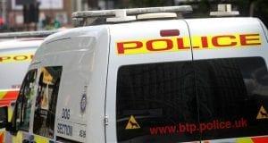 Britisches Polizeifahrzeug