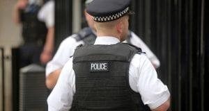 Britische Polizisten