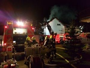 Brand Dachstuhl Offingen