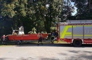 Floss Donau Leipheim Feuerwehr Leipheim 0