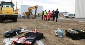 Jettingen - Arbeitsunfall mit Schwerverletztem im Kreis Günzburg