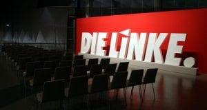 Linkspartei-Logo - Parteitag