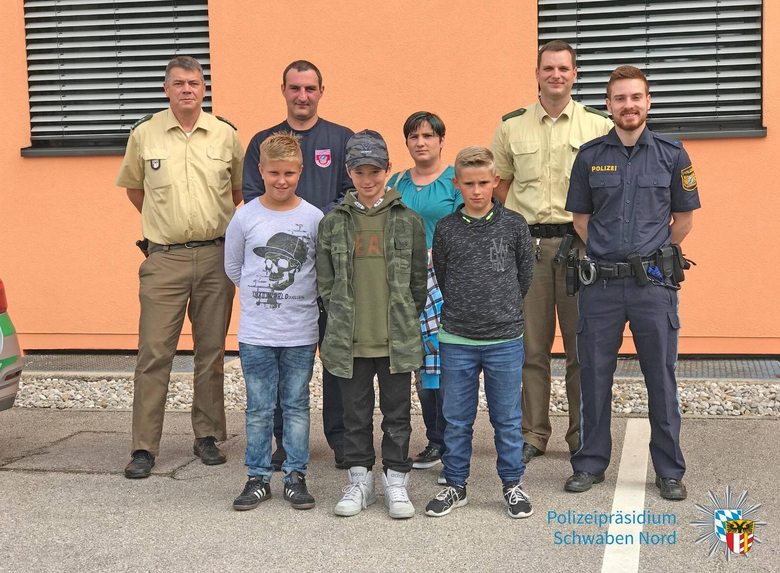 Polizei Gersthofen - Festnahme Ladendieb