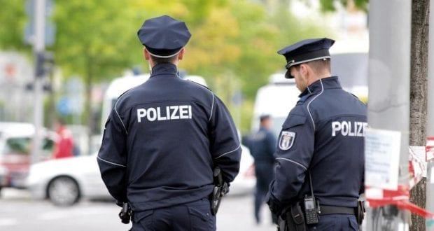 Polizisten im Dienst