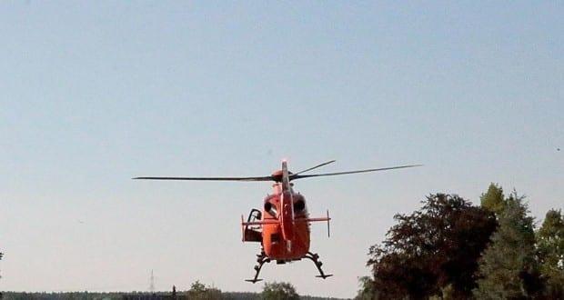 Rettungshubschrauber CH17 aus Kempten