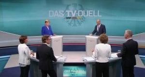 TV-Duell am 03.09.2017