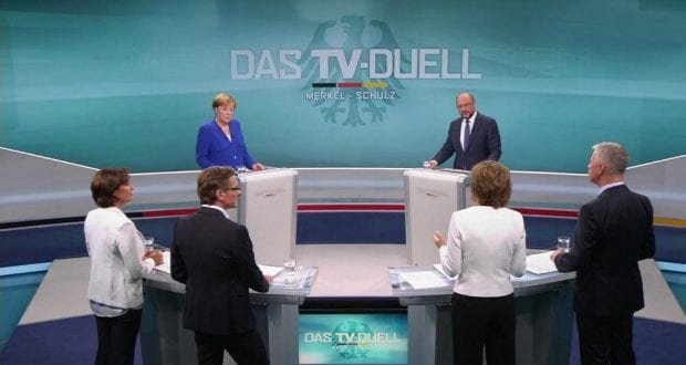 TV-Duell am 03.09.2017