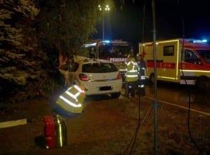 Verkehrsunfall Ortseingang Muttershofen – Kreis Günzburg am 02.09.2017