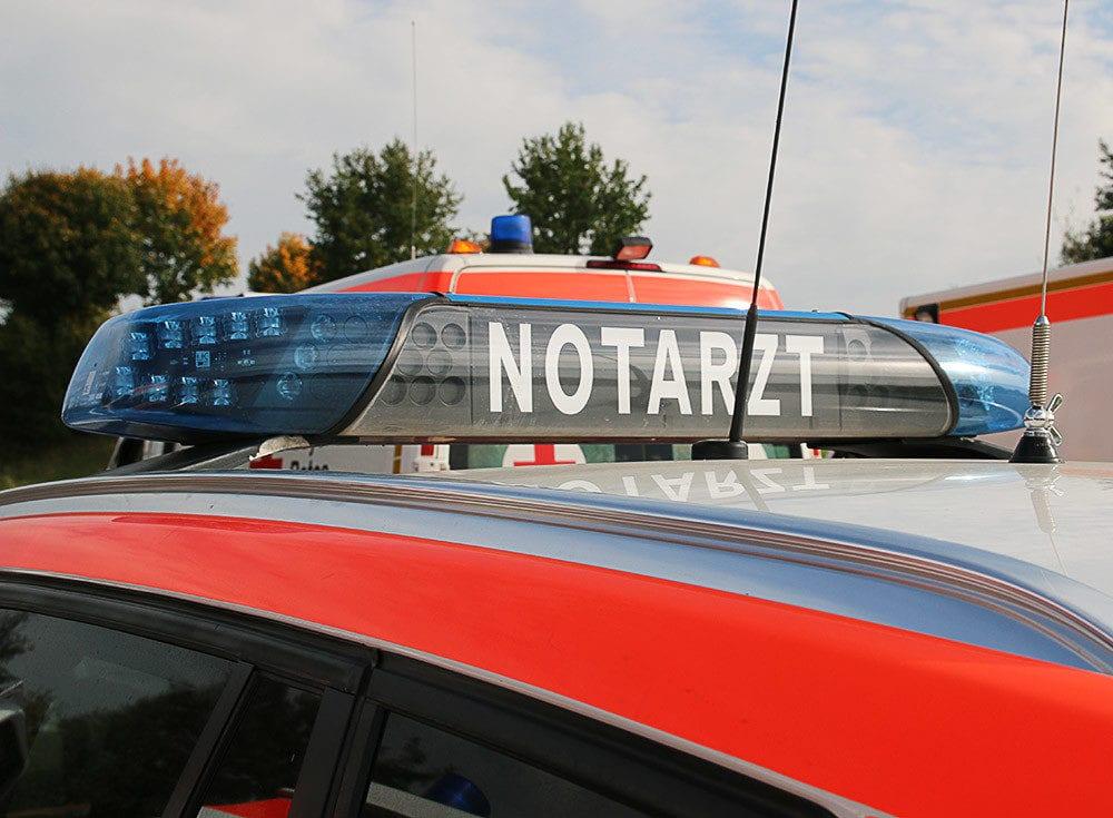 Notarzt NEF und Rettungswagen