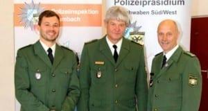 Polizei Krumbach verabschiedung koller