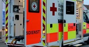 Rettungswagen des BRK