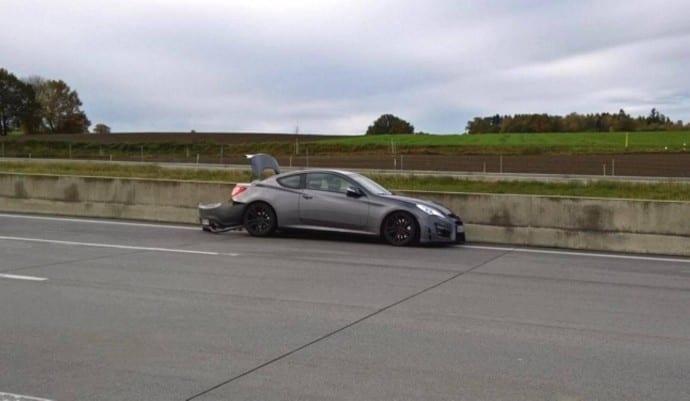 Unfall A8 Dasing Unfallflucht 1