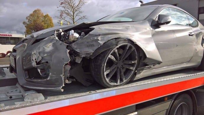 Unfall A8 Dasing Unfallflucht 2