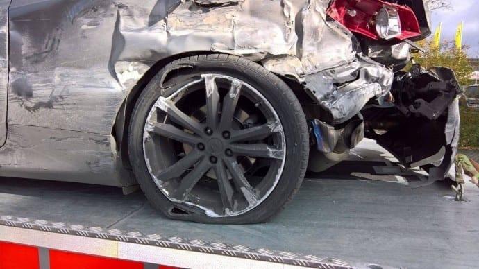 Unfall A8 Dasing Unfallflucht 3