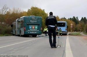 Unfall Gelenkbusse Linienbus Ulm 30102017 1