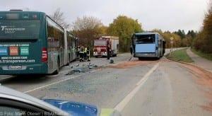 Unfall Gelenkbusse Linienbus Ulm 30102017 6