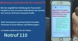 Warnung Whatsapp Polizei