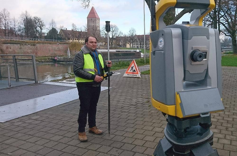 Praktikum Vermessung Stadt Neu-Ulm