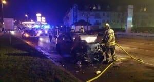 Unfall Guenzburg - Augsburger Strasse 1