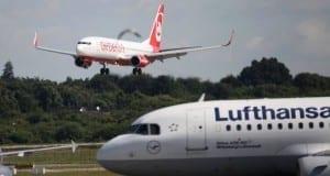 Air Berlin und Lufthansa