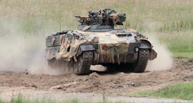 Bundeswehr-Panzer Marder