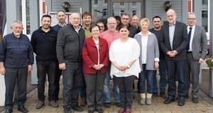 Ehrungen Stadt Neu-Ulm Mitarbeiter